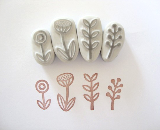 Hand Carved Stamp Tutorial Minna May Design Illustration